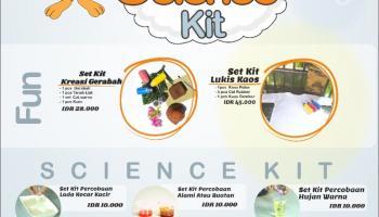 """Taman Pintar """" Fun Science Kit"""" Hadirkan Kreativitas dan Eskperimen Seru Di Rumah"""