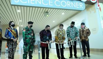 Taman Pintar Science Corner di Yogyakarta International Airport (YIA)