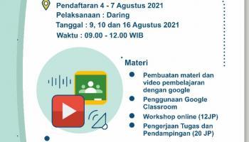 Peningkatan Kompetensi Guru dalam Pembelajaran Online di Masa Pandemi