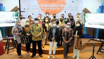 Adakan Webinar Jumpa Sahabat Museum  Taman Pintar Perkenalkan Virtual Guide